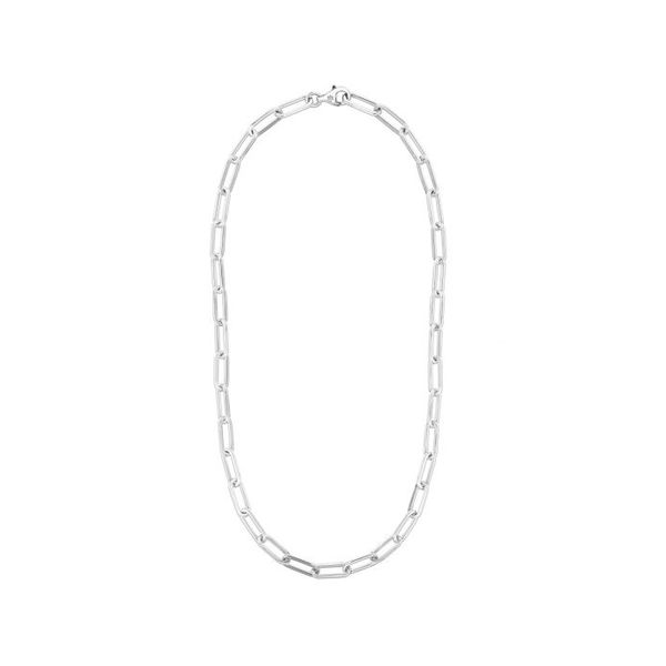 Sterling Silver 18 Inch 3mm Paperclip Chain With Lobster Clasp Robert Irwin Jewelers Memphis, TN