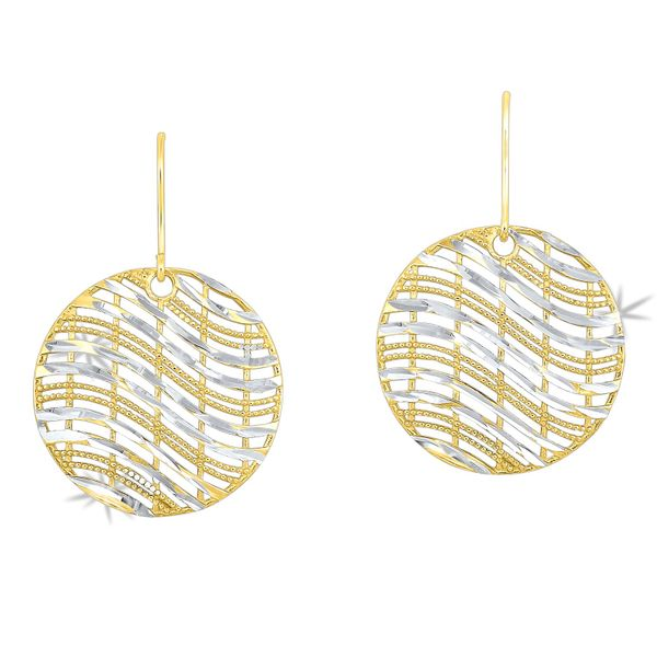 Sterling Silver Gold Overlay Earrings Robert Irwin Jewelers Memphis, TN