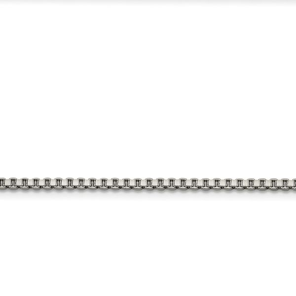 Stainless Steel 2.4mm 20in Box Chain Robert Irwin Jewelers Memphis, TN