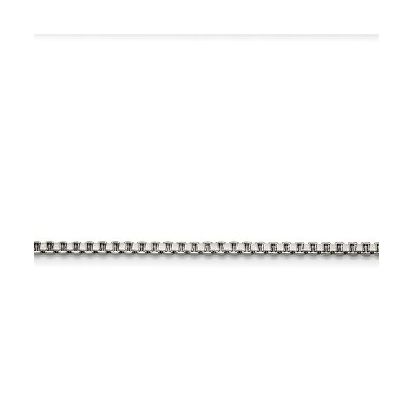 Stainless Steel 2.4mm 22in Box Chain Robert Irwin Jewelers Memphis, TN