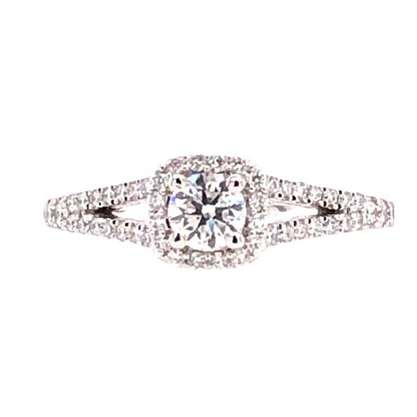 Rolland's Design 14K White Gold Engagement Ring Rolland's Jewelers Libertyville, IL