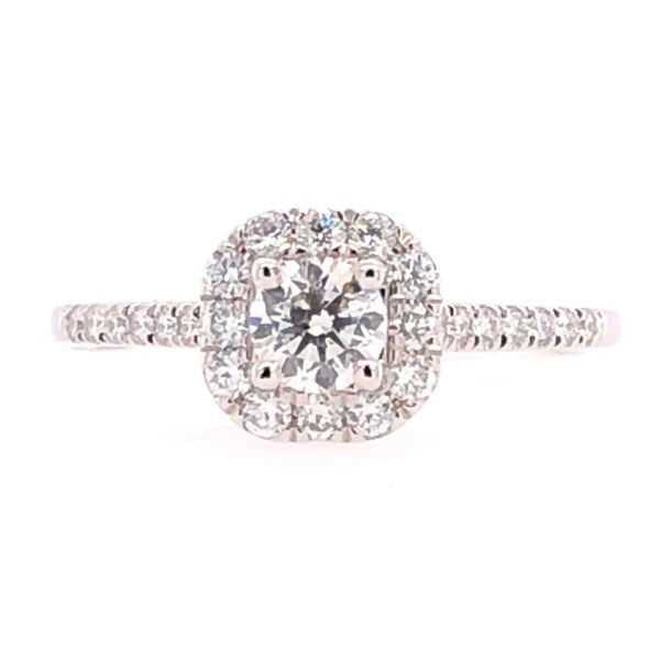 Rolland's Design 14K White Gold Diamond Engagement Ring Rolland's Jewelers Libertyville, IL
