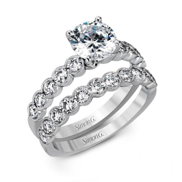 Simon G. Diamond Wedding Band Image 4 Rolland's Jewelers Libertyville, IL