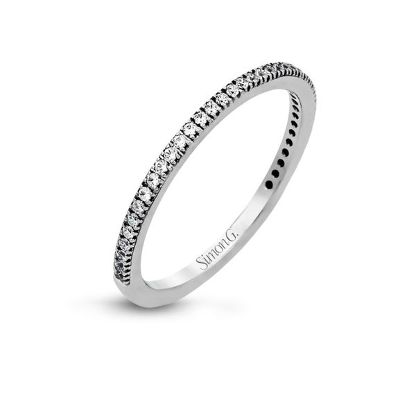 Simon G. Diamond Wedding Band Rolland's Jewelers Libertyville, IL