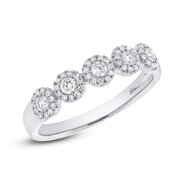 Rolland's Design 5 Station Diamond Ring- .25Cts Rolland's Jewelers Libertyville, IL