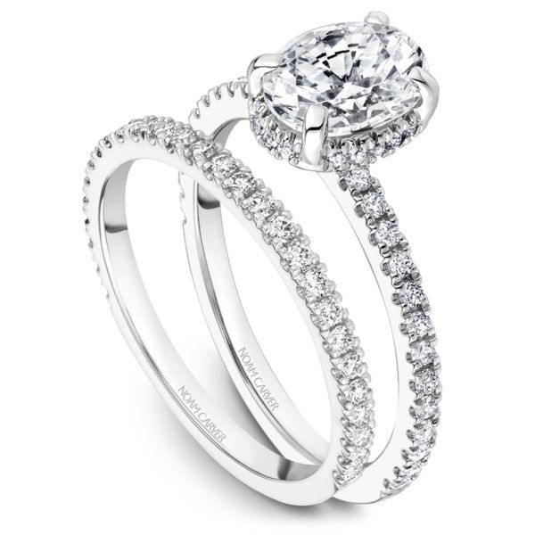 Noam Carver Diamond Wedding Band Image 2 Rolland's Jewelers Libertyville, IL