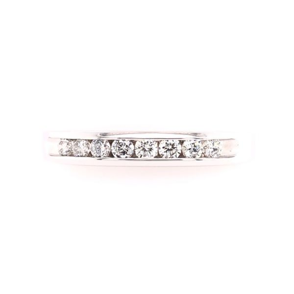 Estate Diamond Channel Set Band Rolland's Jewelers Libertyville, IL