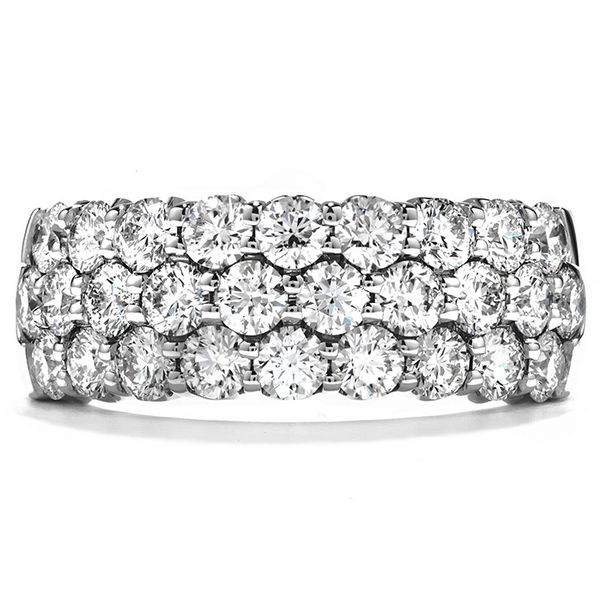 Hearts on Fire Truly Triple Row Diamond Ring Rolland's Jewelers Libertyville, IL