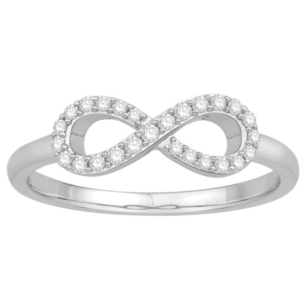 Rolland's Design Diamond Infinity Ring Rolland's Jewelers Libertyville, IL