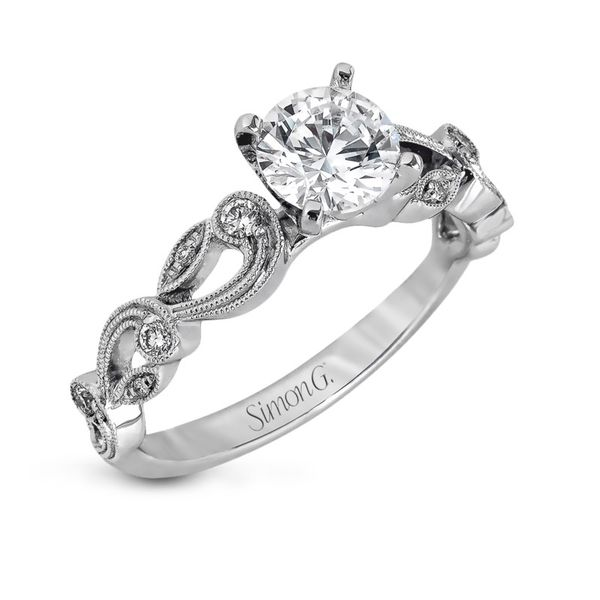Simon G. Diamond Vintage Setting Rolland's Jewelers Libertyville, IL