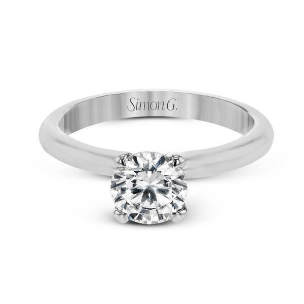 Simon G. Diamond Solitaire Setting Image 2 Rolland's Jewelers Libertyville, IL