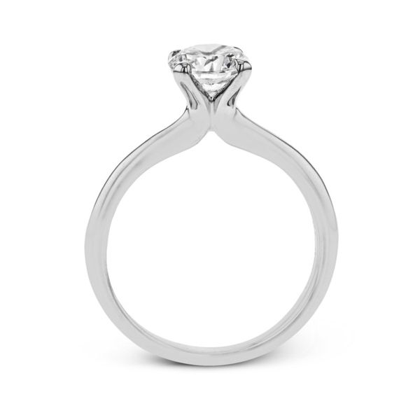Simon G. Diamond Solitaire Setting Image 3 Rolland's Jewelers Libertyville, IL