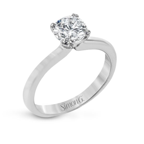 Simon G. Diamond Solitaire Setting Rolland's Jewelers Libertyville, IL