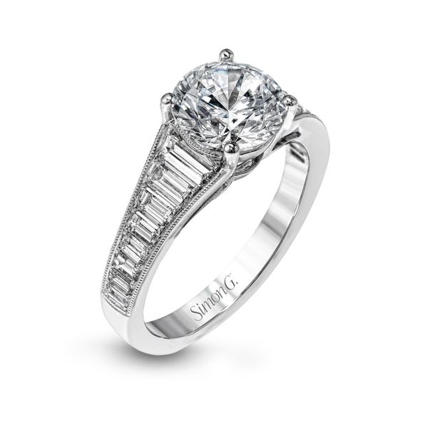 Simon G. Baguette Diamond Setting Rolland's Jewelers Libertyville, IL