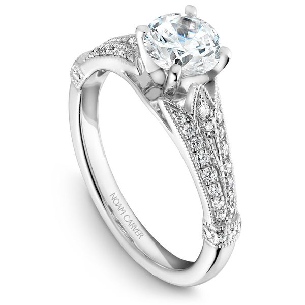 Noam Carver Vintage Diamond Setting Rolland's Jewelers Libertyville, IL