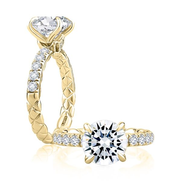 A Jaffe Modern Royals Diamond Setting Rolland's Jewelers Libertyville, IL