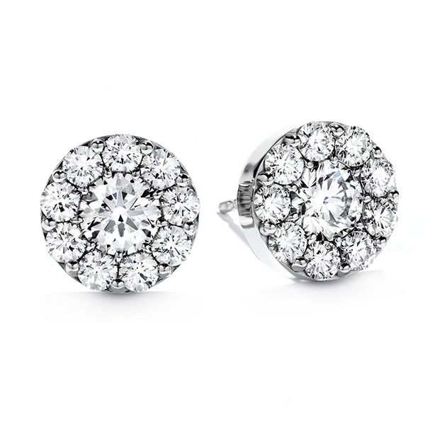 Hearts on Fire Fulfillment Diamond Earrings- 1.00 Cts Rolland's Jewelers Libertyville, IL