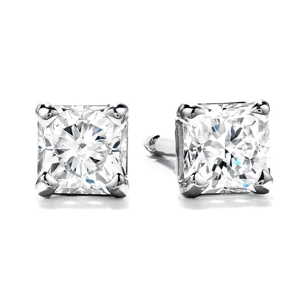 Hearts on Fire Dream Cut Diamond Earrings- 0.60 Cts Rolland's Jewelers Libertyville, IL