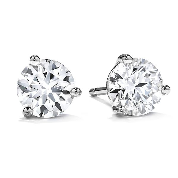 Hearts on Fire Diamond Earrings- 0.50 Cts Rolland's Jewelers Libertyville, IL
