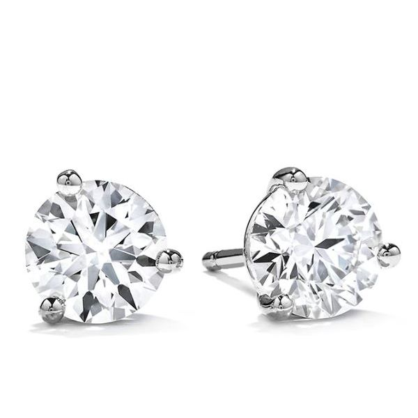 Hearts on Fire Dream Cut Diamond Earrings- 1.00 Cts Rolland's Jewelers Libertyville, IL
