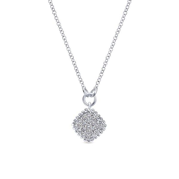 Gabriel Bombay Diamond Necklace Rolland's Jewelers Libertyville, IL
