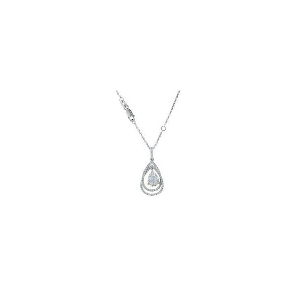Roberto Coin Diamond Teardrop Necklace Rolland's Jewelers Libertyville, IL