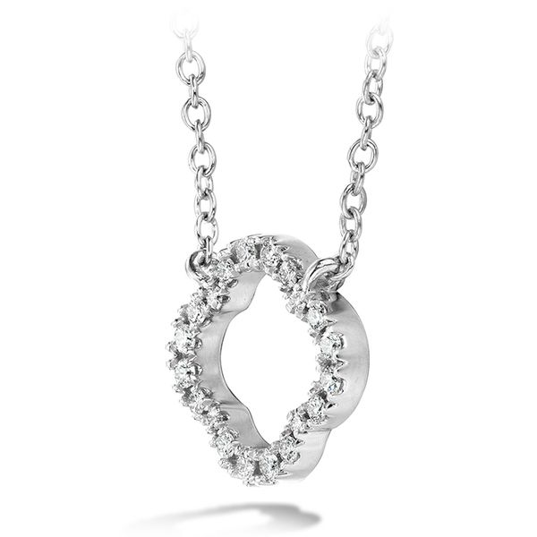 Hearts on Fire Signature Petal Pendant Image 2 Rolland's Jewelers Libertyville, IL