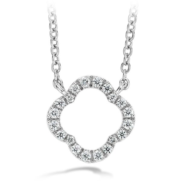 Hearts on Fire Signature Petal Pendant Rolland's Jewelers Libertyville, IL