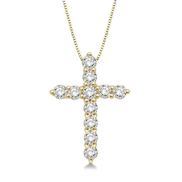 Rolland's Design Diamond Cross Necklace -0.25ct Rolland's Jewelers Libertyville, IL