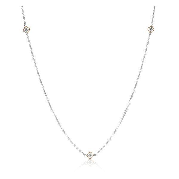 Simon G. 5 Station Diamond Necklace Rolland's Jewelers Libertyville, IL