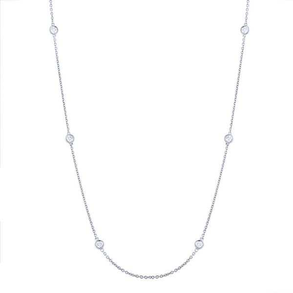 Rolland's Design 10 Station Diamond Necklace Rolland's Jewelers Libertyville, IL