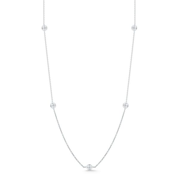 Roberto Coin 12 Station Diamond Necklace Rolland's Jewelers Libertyville, IL