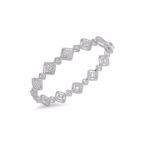 Roberto Coin New Barocco Diamond Bangle Rolland's Jewelers Libertyville, IL