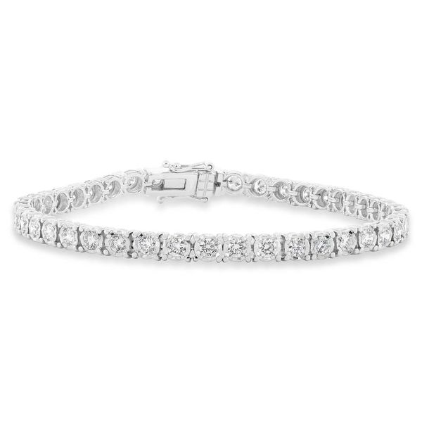 Rolland's Design Diamond Tennis Bracelet Rolland's Jewelers Libertyville, IL