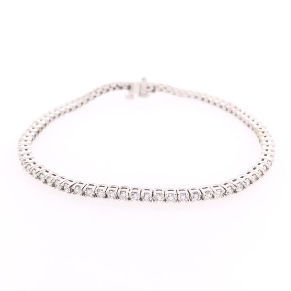 Rolland's Design Diamond Tennis Bracelet -3.92ct Rolland's Jewelers Libertyville, IL