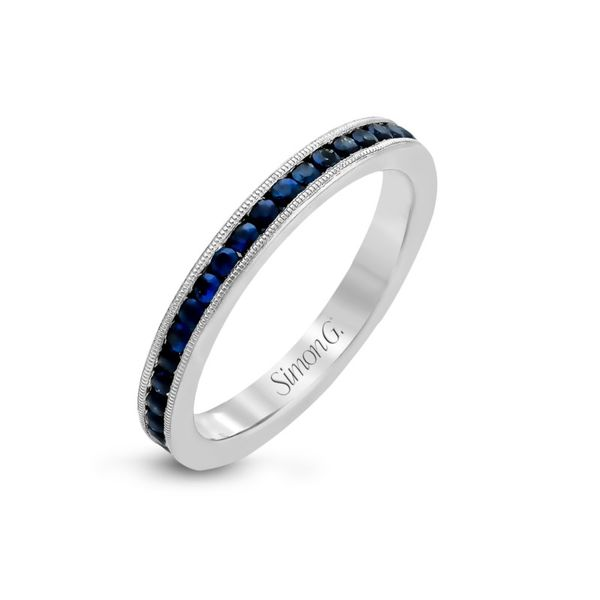 Simon G. Blue Sapphire Ring Rolland's Jewelers Libertyville, IL