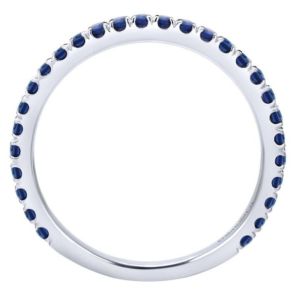 Gabriel Sapphire Stackable Ring Image 4 Rolland's Jewelers Libertyville, IL