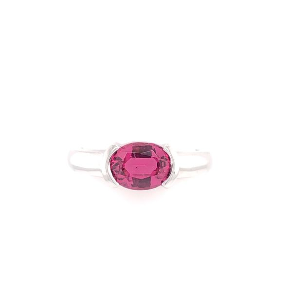 Estate 14K White Gold Pink Tourmaline Ring Rolland's Jewelers Libertyville, IL