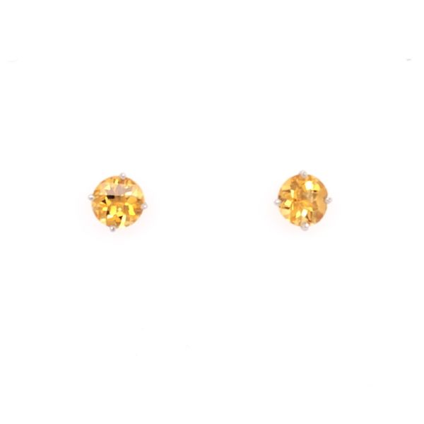 Citrine Stud Earrings Rolland's Jewelers Libertyville, IL