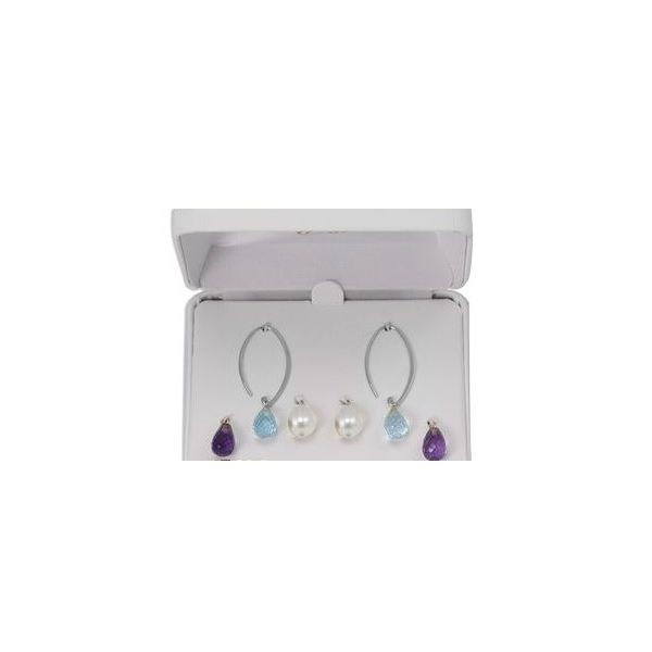 Carla Sterling Silver Box Earring Set Rolland's Jewelers Libertyville, IL