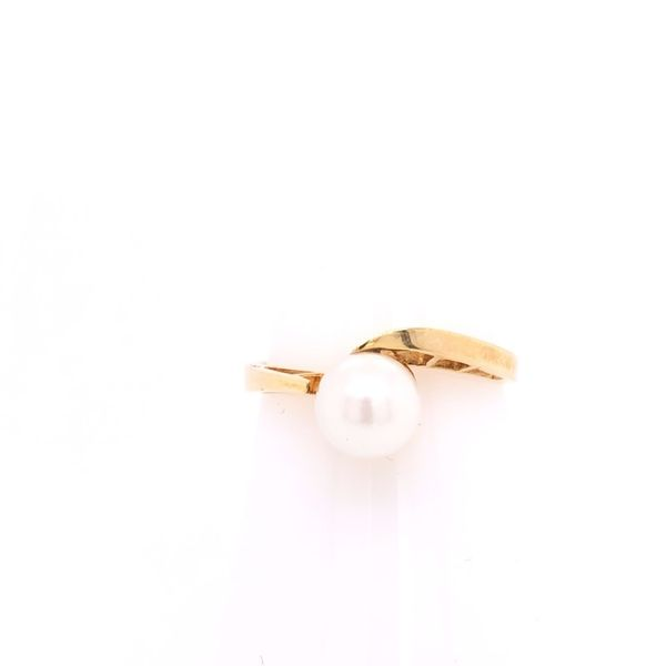 Estate 14K Yellow Gold Pearl Ring Rolland's Jewelers Libertyville, IL