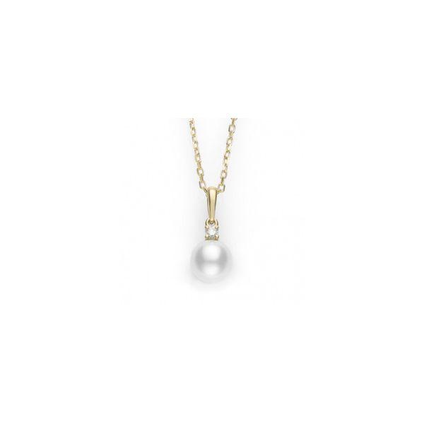 4058e751f9fb5 Mikimoto Pearl & Diamond Pendant