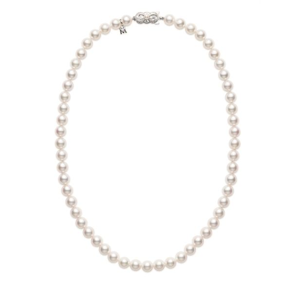 Mikimoto Pearl Necklace Rolland's Jewelers Libertyville, IL