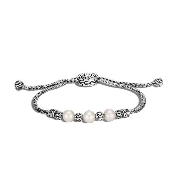 John Hardy Pull Bracelet With Pearls Rolland's Jewelers Libertyville, IL