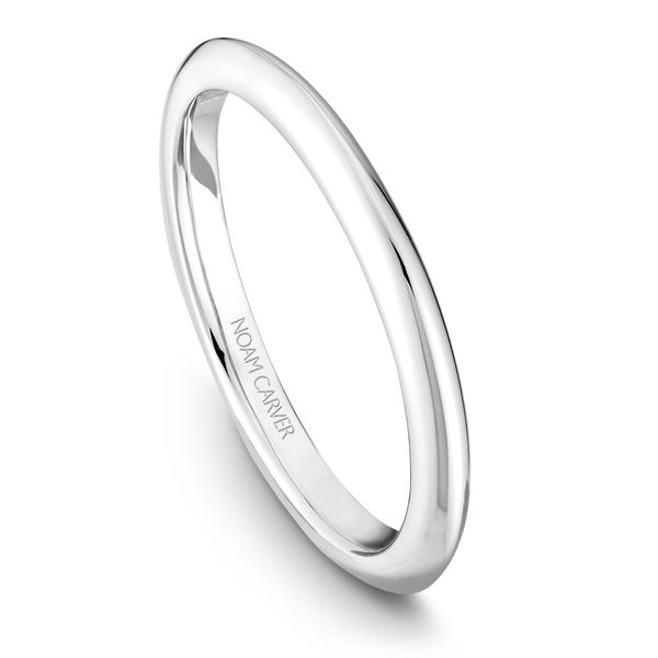 Noam Carver White Gold Wedding Band Rolland's Jewelers Libertyville, IL