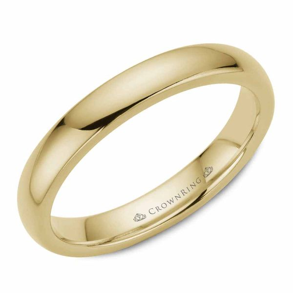 Crown Ring Gold Men's Band Rolland's Jewelers Libertyville, IL