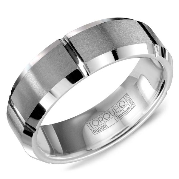 Crown Tungsten Carbide Wedding Band Rolland's Jewelers Libertyville, IL