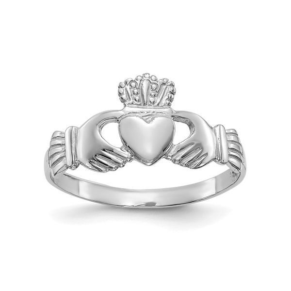 Rolland's Design Claddagh Ring Rolland's Jewelers Libertyville, IL