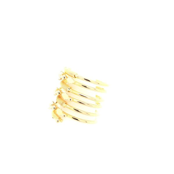 Estate 18K yellow Gold Spring Ring Image 2 Rolland's Jewelers Libertyville, IL