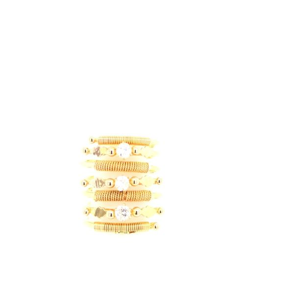 Estate 18K yellow Gold Spring Ring Rolland's Jewelers Libertyville, IL